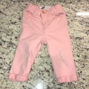 "Old Navy Toddler Girl ""Boyfriend"" Jeans 12-18 mons"